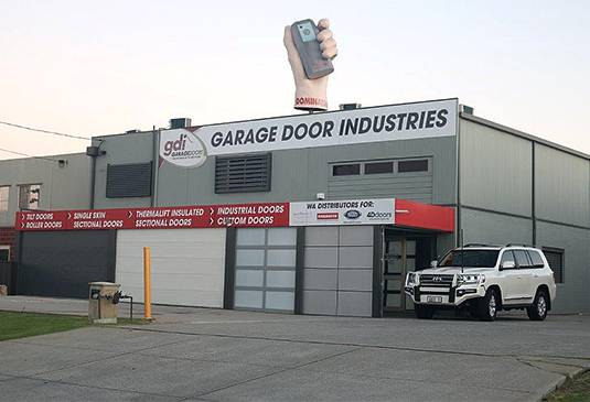 Garage Door Industries Building